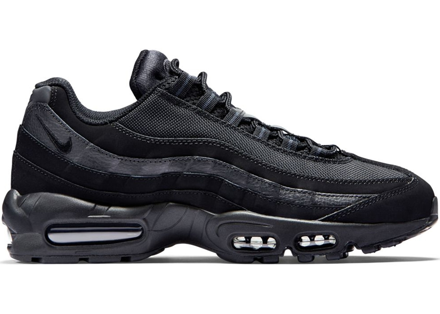 on sale 4684d a182e Nike Air Max 95 All Black 749766-009